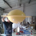 Flying saucers take shape