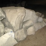 artificial boulders