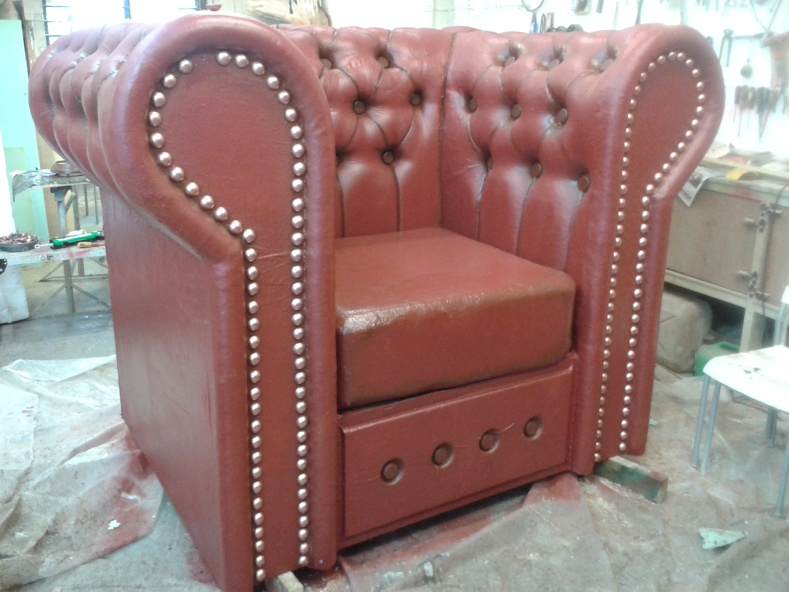Replica Chesterfield Chairs